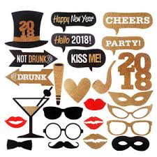photo booth prop 25pcs 2018 new year party decor birthday diy photo booth prop mask