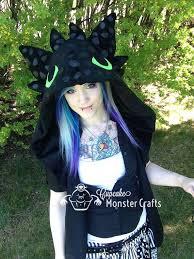 Toothless Halloween Costume Train Dragon Cosplay Costumes