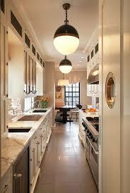 narrow kitchen gorgeous narrow kitchen designs 17 best ideas about long on