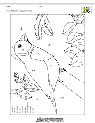color by number coloring pages for kindergarten imchimp me