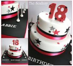 18th birthday cake with stars 18th bdaycake boys pinterest
