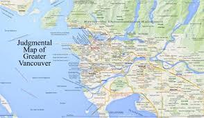 san francisco judgmental map judgemental map of vancouver maps