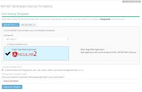 running asp net boilerplate module zero core template on docker