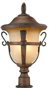 Outdoor Lighting Posts - maxim 30080 nantucket 3 light outdoor post light country forge