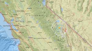 Earthquake Map Usgs 3 9 Earthquake Strikes Mammoth Lakes Abc30 Com