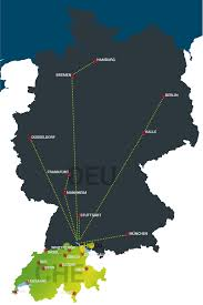 Mannheim Germany Map by Continental Transport Hoco