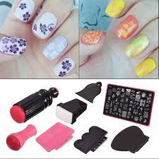 amazon com nail art stamper dancingnail beauty lady nail art