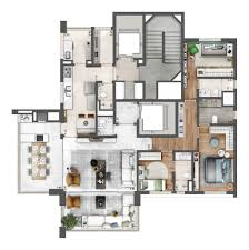 neorama floor plan epic vila olímpia floor plans pinterest