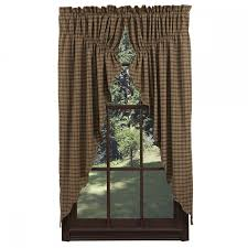 primitive gathered swag curtains soozone