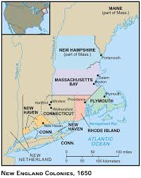 The Thirteen Colonies Map Map Of New England Colonies London Map