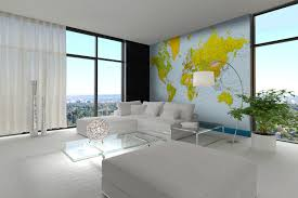 map of the world landscape wall mural 366 x 254 cm