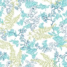 kimono repeat pattern vector kimono plants lineart seamless pattern stock vector
