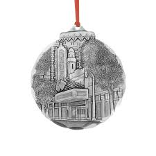 atlanta fox theater ornament wendell august