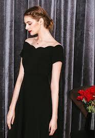 hepburn retro black dress vintage pendulum wave roman collar short