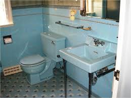 replicating alice s blue 50s bathroom tile floor 50s bathroom from
