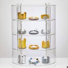 Acrylic Display Cabinet Circular Clear Acrylic Jewellery Display Cabinet Page 1