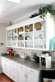 kitchen with shelves no cabinets open kitchen cabinets no doors diy inoweb info