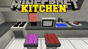minecraft kitchen furniture minecraft kitchen mod microwave toaster blender dish washer