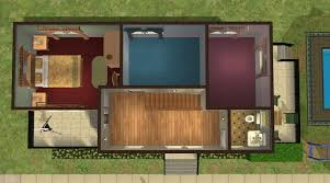 Starter Home Floor Plans Mod The Sims Familie Home In Olive Green In 2 Versions Starter