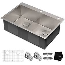 what size undermount sink for 33 inch base cabinet 33 drop in 16 stainless steel bowl kitchen sink