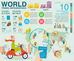 Modern Europe Map by Travel Infographics With Data Icons Map Illustrations And