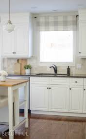 Kitchen Window Valance Ideas by Farmhouse Kitchen Window Valance Tutorial A Burst Of Beautiful