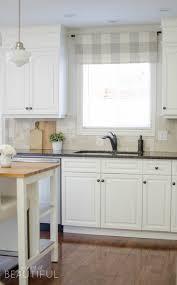 farmhouse kitchen window valance tutorial a burst of beautiful