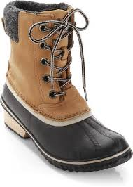 womens boots rei sorel slimpack ii lace winter boots s at rei