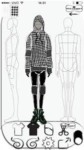 prêt à template app for drawing fashion sketches apps free for