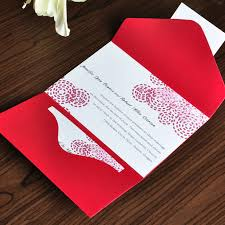 simple polka dots wedding pocket invitation ewpi010 as low as