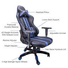 amazon com co z ergonomic adjustable high back headrest swivel