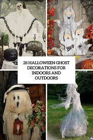 28 halloween ghost decorations for indoors and outdoors digsdigs