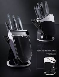 master knife block set all in one premium knife set with mirror