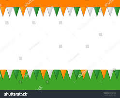Flags That Are Orange White And Green St Patricks Day Orange White Green Stock Vector 589992626