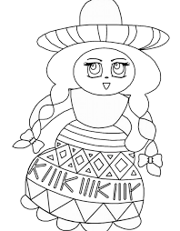 mexican coloring pages coloring home