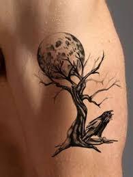 moon tree perfection tattoos