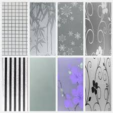 frosted glass stickers home furniture u0026 diy ebay