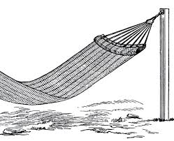 vintage hammock image the graphics fairy
