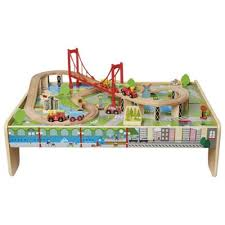 carousel train table set buy carousel wooden train table from our carousel toy vehicles range