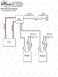 hid wiring harness diagram hid wiring diagrams instruction