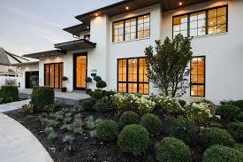 modern exterior contrast modern exterior