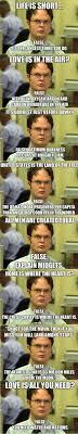Dwight Schrute Meme - dwight schrute s logic the meta picture