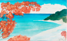 how to approach watercolor painting as a beginner with pictures