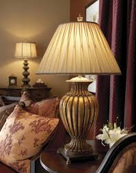 lights appliances antique golden traditional brass table lamp