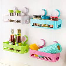 plastic bathroom shelf kitchen storage box organizer basket with