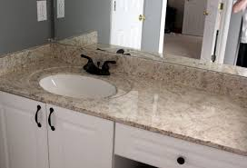 Granite Bathroom Vanity My Enroute Life Painted Faux Granite Countertops Master Bathroom
