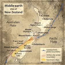 Map Of Tectonic Plates The Geology Of Middle Earth Earth Magazine