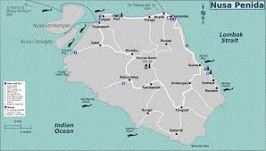 Bali Indonesia Map Nusa Penida Bali Friends Of The National Parks Foundation