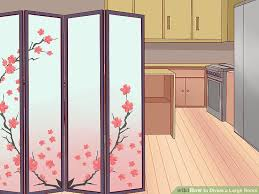 Large Room Dividers by How To Divide A Large Room With Pictures Wikihow