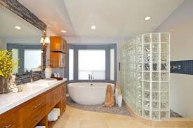 glass block bathroom designs glass block shower houzz